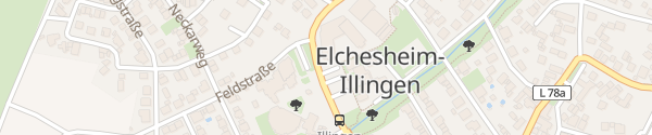 Karte Rathaus Elchesheim-Illingen