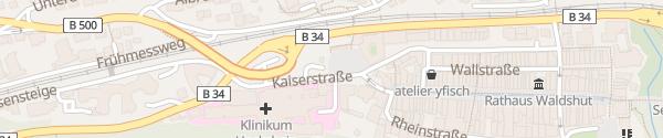Karte Parkhaus Viehmarktplatz Waldshut-Tiengen