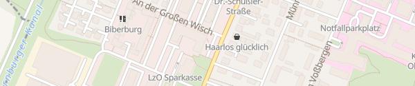 Karte EWE Servicepunkt Oldenburg
