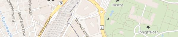 Karte Parkhaus Campus Windisch