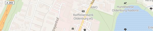 Karte Autohaus Liepinsch Oldenburg