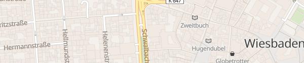 Karte Parkhaus Mauritiusgalerie Wiesbaden