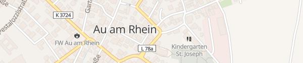 Karte Rathaus Au am Rhein