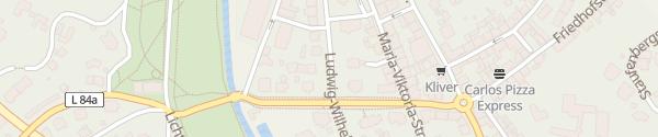 Karte Gausplatz Baden-Baden