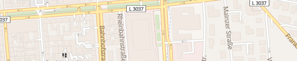 Karte RheinMain CongressCenter Wiesbaden