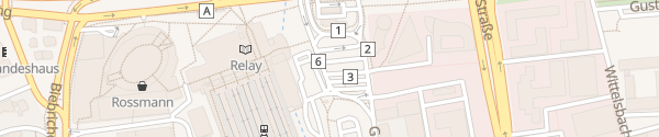 Karte Schnellladesäule Hauptbahnhof Wiesbaden