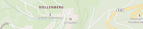 Karte Hotel Dollenberg Bad Peterstal-Griesbach