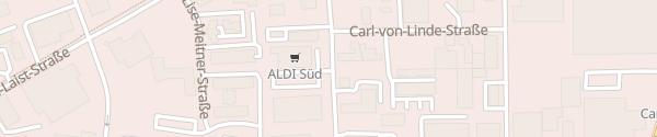 Karte ALDI Süd Mainz-Hechtsheim Mainz