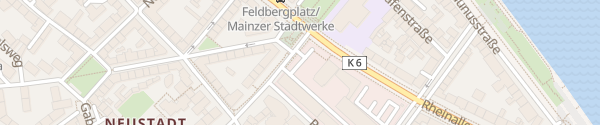 Karte Stadtwerke Mainz