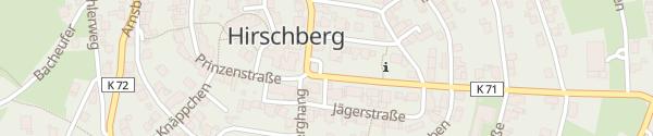 Karte Volksbank Hirschberg Warstein