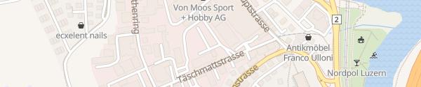Karte Luzern CKW Luzern