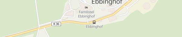 Karte Familotel Ebbinghof Schmallenberg