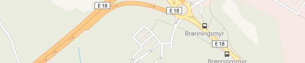 Karte Circle K Kjerlingland Lillesand