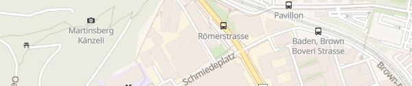 Karte Berufsfachschule Baden