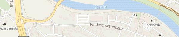 Karte ALDI Süd Gaggenau