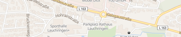 Karte Rathaus Lauchringen