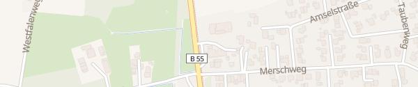 Karte Autohaus Leweling Langenberg