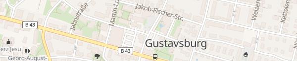 Karte Freiwillige Feuerwehr Ginsheim-Gustavsburg