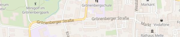 Karte Grönenberger Straße Melle