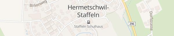 Karte Dorfladen Hermetschwil-Staffeln