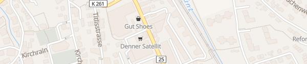 Karte Auto Senn / Kia-Garage Muri