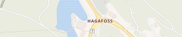 Karte Kiwi Hagafoss Hol