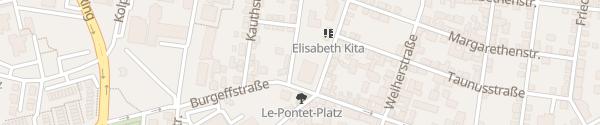 Karte Mainova Ladesäule Hochheim