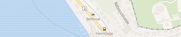 Karte Seehotel Hermitage Luzern