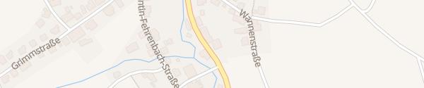 Karte Autohaus Amann Bonndorf