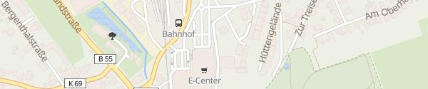 Karte E-Center Dumke Warstein