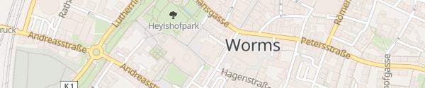 Karte Volksbank Worms