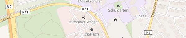 Karte BMW Scheller Ludwigshafen