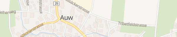 Karte Industriestrasse Auw