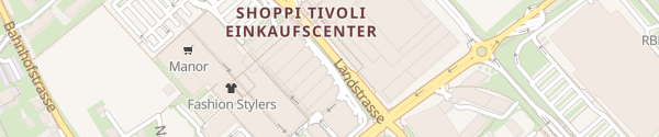 Karte TivoliParking Shoppi Tivoli Spreitenbach
