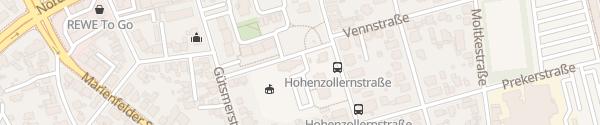 Karte Volkshochschule Gütersloh