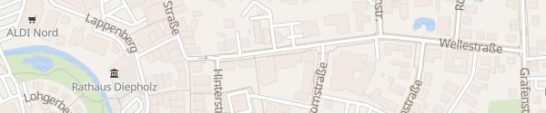 Karte Stadtwerke Huntetal Innenstadt Diepholz
