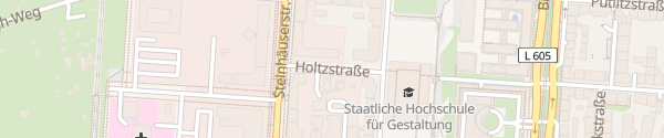 Karte Parkgarage LOK Karlsruhe