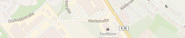 Karte Gartencenter Brockmeyer Halle