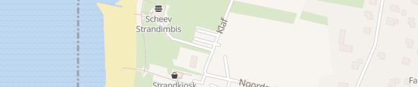 """Karte Parkplatz """"Haus des Gastes"""" Utersum"""