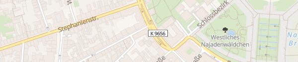Karte Staatliche Kunsthalle Karlsruhe