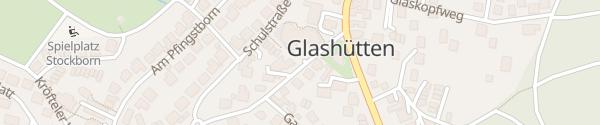 Karte Schloßborner Weg Glashütten