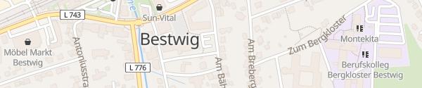 Karte Rathaus Bestwig