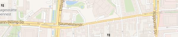 Karte Parkgarage Staatstheater Karlsruhe