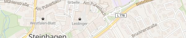 Karte Marktplatz Steinhagen