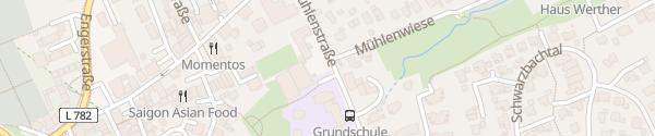 Karte Rathaus Werther (Westfalen)