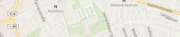 Karte Landratsamt Freudenstadt