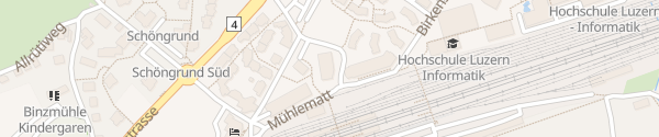 Karte APARTHOTEL Rotkreuz