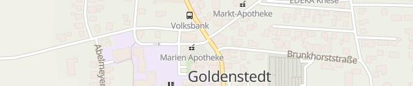 Karte Rathaus Goldenstedt
