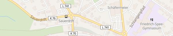 Karte Fahrschule Gödde Rüthen