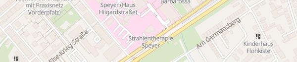 Karte Diakonissen-Krankenhaus Speyer